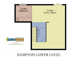 michigan home builders floor plans hampton sable homes