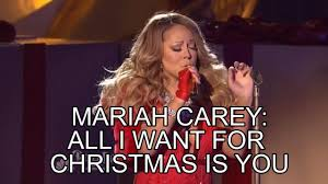 All I Want For Christmas Is You Meme - mariah carey rockefeller center 2014 all i want for christmas is