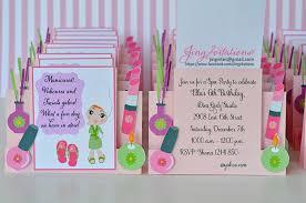 birthday party handmade invitations