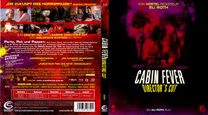 cabin fever blu ray dvd covers 2003 r2 german