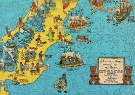 World Map Puzzles by Historical Map Of New Zealand Wooden Jigsaw Puzzle Liberty