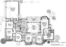 French Cottage Floor Plans House Plan 66115 At Familyhomeplans Com