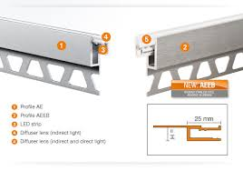 led cove lighting profile profile for cove lighting schlüter systems