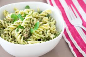 tuna and pesto pasta recipe from pescetarian kitchen