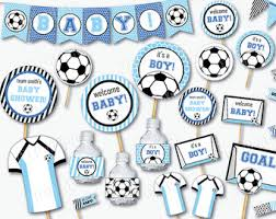 boys baby shower blue baby shower etsy
