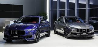 maserati maserati fans larte design tuning package for the maserati levante s torque