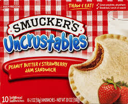 halloween sandwich bags smucker u0027s uncrustables peanut butter u0026 strawberry jam sandwich