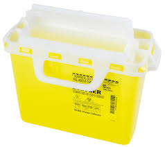 wall mounted sharps containers single use 8 litre one piece sharps container interwaste
