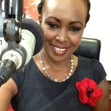 Senator Mike Sonko, Kiss 100 radio host Caroline Mutoko - carolynemutoko