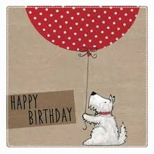 pdsa blank charity birthday card balloon dog 4365 ebay