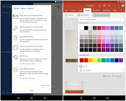 office for android gets home screen shortcuts other key features