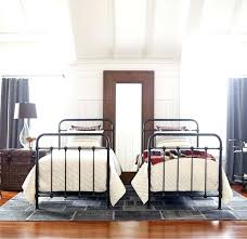 antique metal twin bed frameinspired by traditional campaign metal