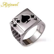 ring men aliexpress buy ajojewel classic cool men s jewelry chunky