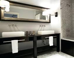 Double Trough Sink Bathroom Trough Bathroom Sink Double Faucet In One Sinksmall Trough
