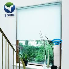 automatic electric curtain tubular motor window roller blind yc 1d