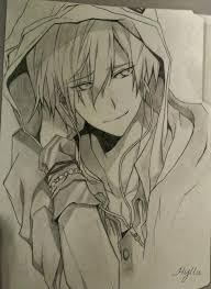 anime boy sketch by hylla chan on deviantart