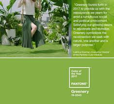 pantone color 2017 trend scout inspired by greenery pantone color of the year 2017
