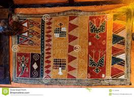 african style rug on wall stock photo image 51720346