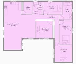 plan maison 2 chambres plain pied plan maison 3 chambres plain pied meilleur de élégant plan maison 2