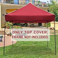 First Up Replacement Canopy by Strong Camel Ez Pop Up Canopy Replacement Top Instant 10 U0027x10