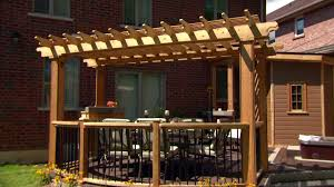 How To Build A Wood Awning Over A Deck Decked Out Diy