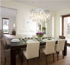 dining room table light fixtures rectangular crystal chandelier dining room collection with light