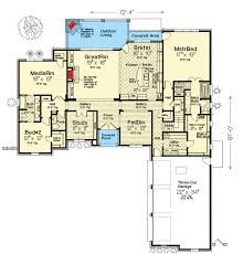 house plans with media room exclusive country house plan with media room 48528fm