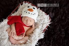 newborn photo props snowman christmas newborn photo props hat
