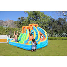 sportspower battle ridge inflatable water slide topoffersmall com