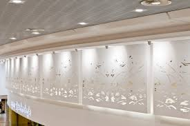 Tableau Architecture Acoustic Plasterboard Perforated Custom Decorative Tableaux