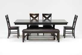 Dining Tables And 6 Chairs Sale Pelennor 6 Piece Extension Dining Set Living Spaces