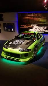mitsubishi eclipse fast and furious paul walker s mitsubishi eclipse from first fast and furious