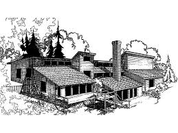 mountainside house plans geneva modern mountain home plan 085d 0005 house plans and more