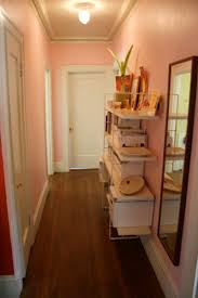 Hallway Paint Ideas by Pink Hallway Home Pinterest Bedrooms And Walls