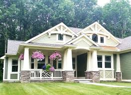 one craftsman home plans plans single craftsman house plans inspiring design one with
