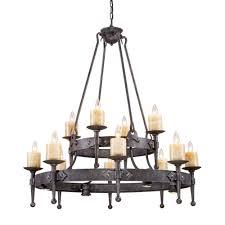 titan lighting cambridge 12 light moonlit rust ceiling mount