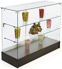 All Glass Display Cabinets Home Amazon Com 48