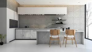 cuisine en beton béton ciré dans la cuisine prix couleurs conseils