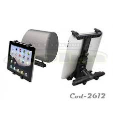 porta tablet auto porta tablet para respaldo de auto universal cod 2612 kolm