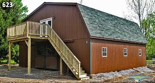 barn style roof barn with living quarters barn plans with loft horizon structures