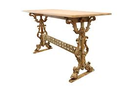 Stone Console Table Console Table Marvelous Wrought Iron Console Table Photo