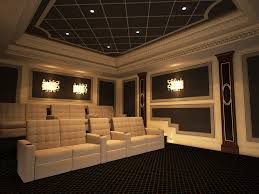 custom home theater media room artistic smart homes vaughan