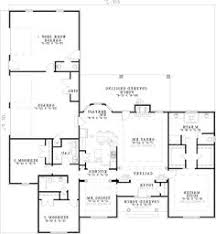 image of large first floor for house plan 055s 0046 interesting