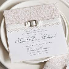 lace invitations white lace invitations allfreediyweddings