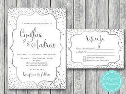Silver Wedding Invitations The 25 Best Silver Wedding Invitation Sets Ideas On Pinterest