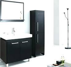 Black Bathroom Shelves Black Wall Cabinet For Bathroom Chaseblackwell Co