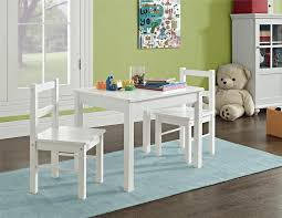 3 piece table and chair set amazon com ameriwood home hazel kid s table and chairs set white