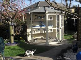 Octagon Homes by Hand Made Bespoke Pet Enclosures Luxury Pet Homes