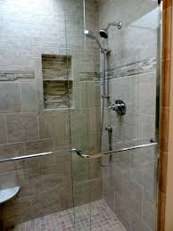 Stand Up Bathroom Shower Clocks Stand Up Glass Showers Walk In Shower With Seat Glass