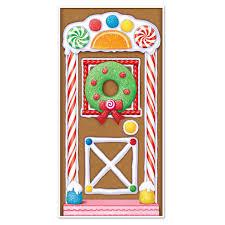 amazon com beistle 20017 gingerbread house door cover 30